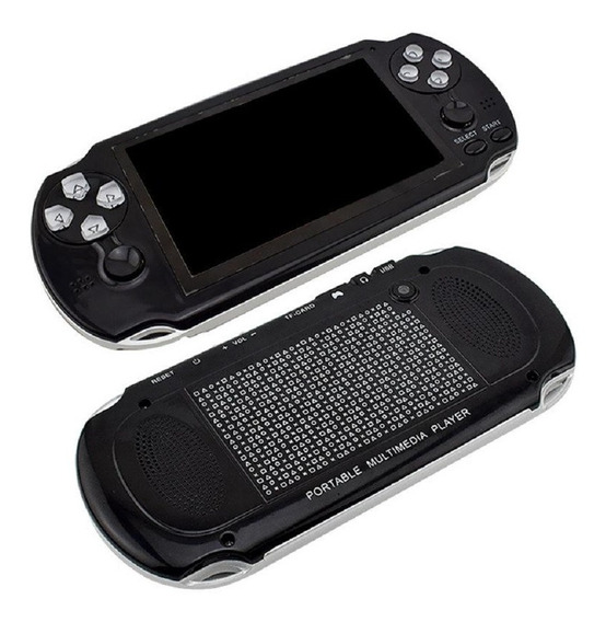 Video Game Portátil Multimedia Player Mp3 Mp4 Mp5 10000jogos