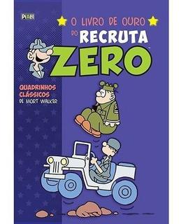10 Livros Hq - O Livro De Ouro Do Recruta Zero
