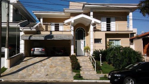 Belíssima Residência Em Condomínio Com Localização Privilegiada - Ca5529