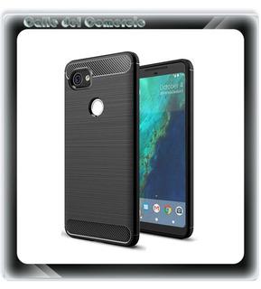 Funda Carbono Fiber Antichoque Google Pixel 2 Xl En Stock