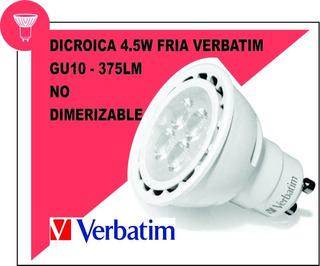 Dicroica 4.5w Fria X10 Verbatim - Oferta!!