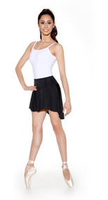 Saia Aulas De Ballet Bale Adulto Curta Frente Comprida Atras