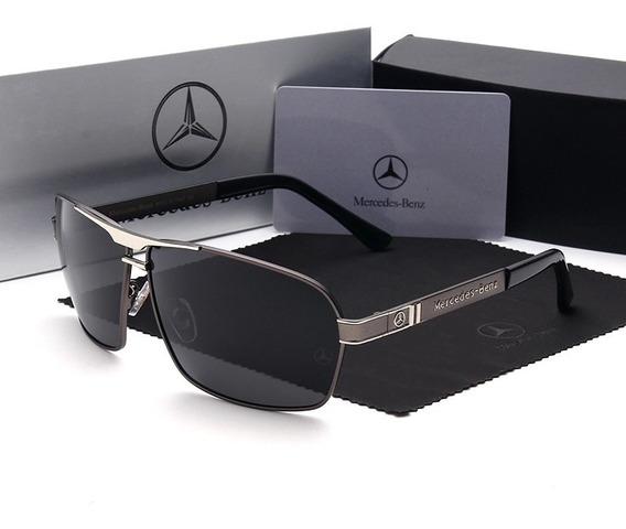 Óculos Mercedes Benz Grey Lentes Polarizadas / Mb 722 62