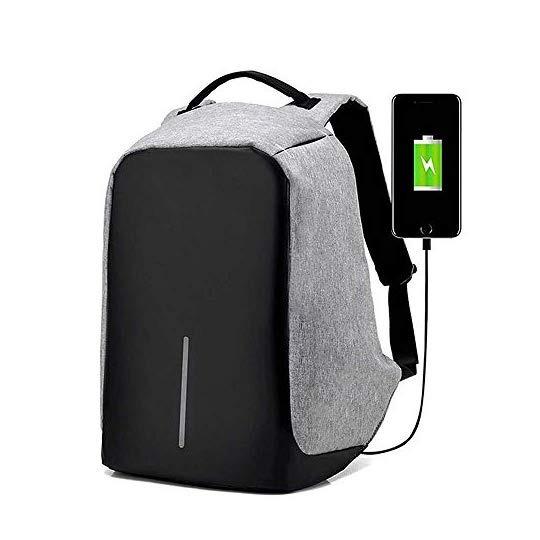 Sonolife Mochila Antirrobo Contraagua Para Laptop Con Acces