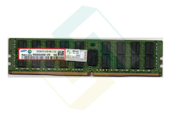 Memoria Servidor Dell Hp Ibm 16gb Ecc Reg - Pc4l-2133p