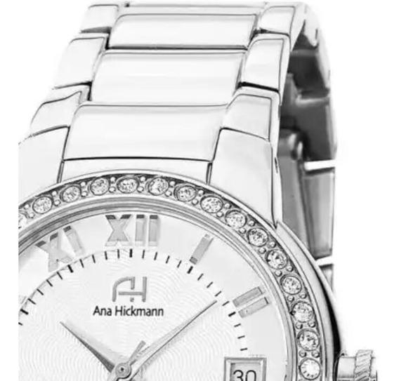 Relógio Ana Hickmann Feminino Ah28562q Analógico Urbano