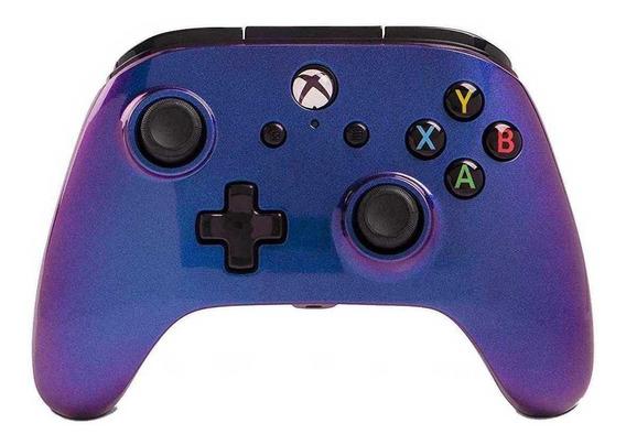 Controle joystick PowerA Enhanced Wired Controller Xbox One nebula