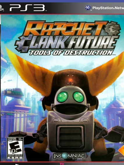 Ps3 Ratchet & Clank Future Tools Of Destruction Psn Jogo