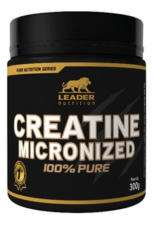 Creatine Micronized 100% Pure Creatina - Leader Nutrition