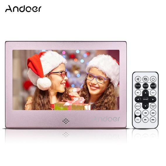 Andoer 7 &qu?led Digital Reino Unido Rosa