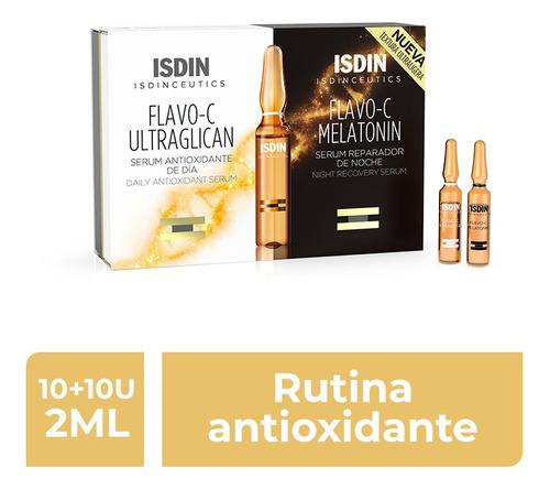 Isdinceutics Flavo C Day&night 10+10 Ampollas