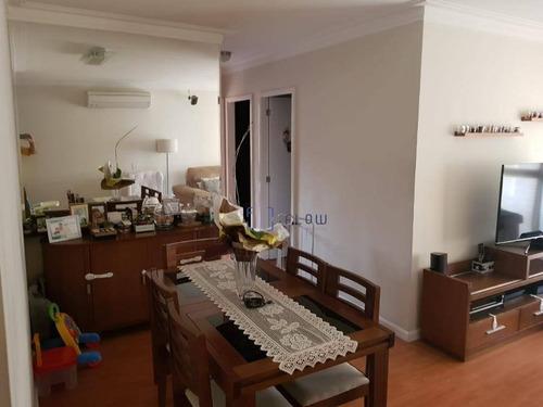 Apartamento Com 3 Dormitórios E 2 Vagas De Garagem - Saúde - Ap10672