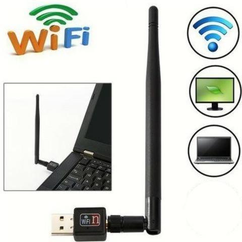 Antena Wi-fi Adaptador Wireless 900mb Pc Notebook *promoção*