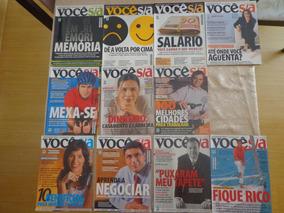 Revista Voce S/a Edições De 2004