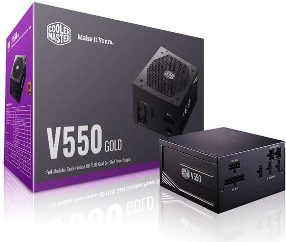 Fonte Atx 550w Reais V550 - 80 Plus Gold Full Modular / Nfe