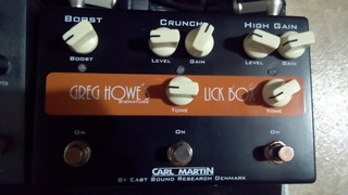 Distorsion Carl Martin Greg Howe S Lick Box
