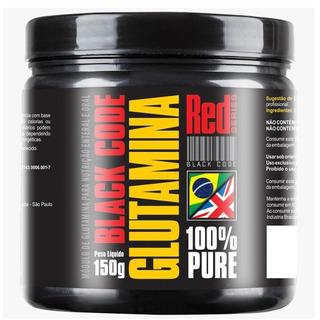 Glutamina Black Code 100% Pure (300g) - Red Series