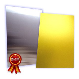 10 Placas De Aluminio De 60x40cm Para Sublimacion Lamina