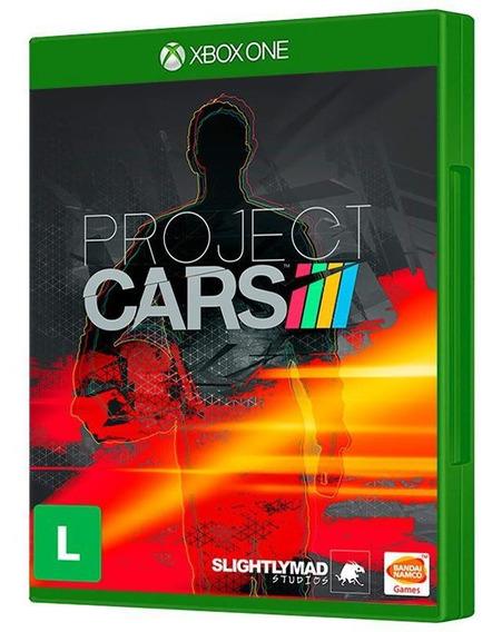 Project Cars - Xbox One ( Mídia Física, Original E Lacrada )