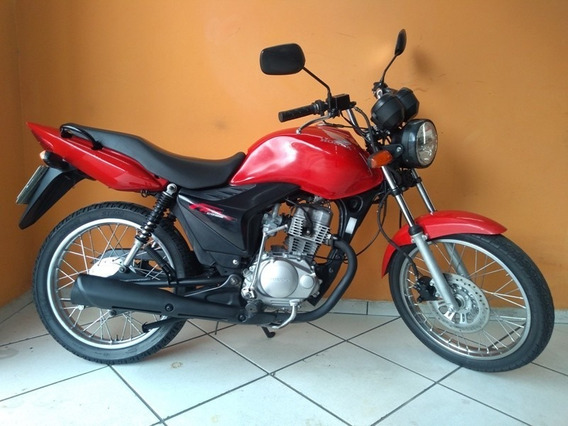 Honda Cg Fan 125 Ks 2012 Vermelha