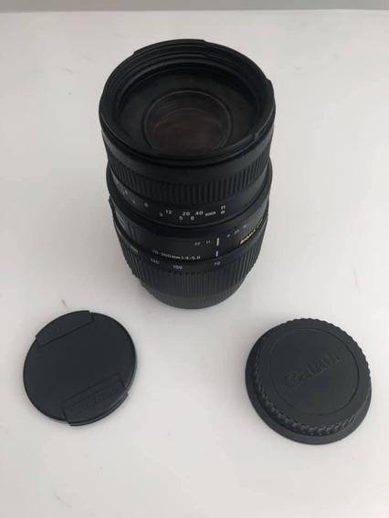 Lente Sigma Para Canon 70-300 1:4-5.6 Dg Frete Grátis! Linda