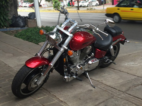Honda Vtx 1800 Chopper Terracota Impecable!! Hermosa!