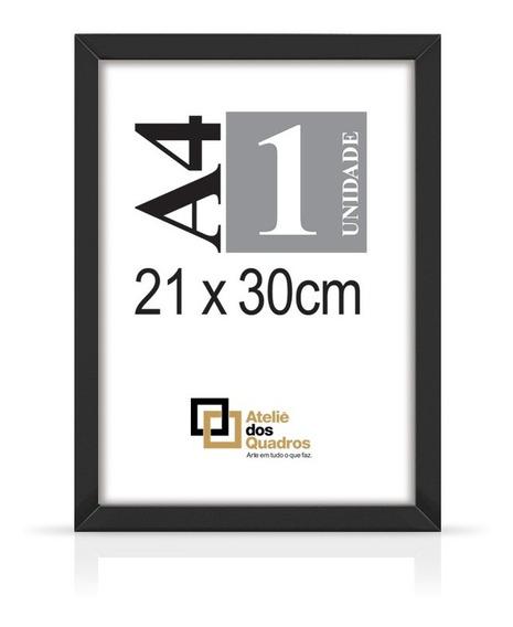 Quadro Moldura A4 21x30 Vidro Poster Certificado Fotografia