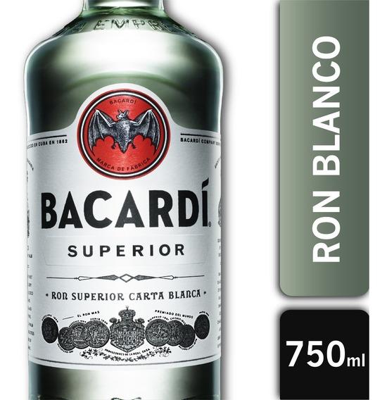 Botella Ron Bacardi Carta Blanca 40º 750ml
