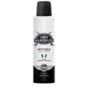 Desodorante Aerossol Très Marchand Invisible 150ml