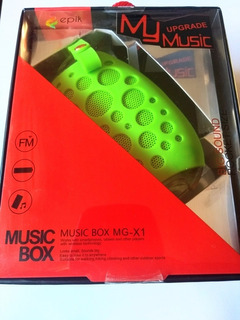 Parlante Bluetooth Resistente Al Agua Box Mg X-1(garin)