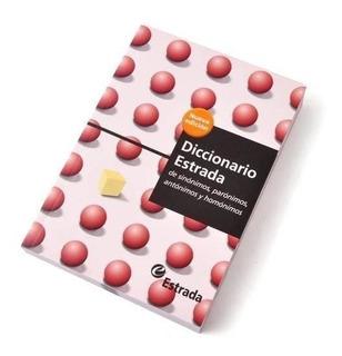 Libro Diccionario Estrada Sinonimos Antonimos Paronimos Homo