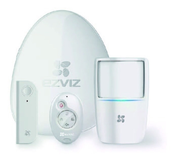 Kit De Seguridad Wifi Ezviz