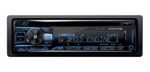 Imagen 1 de 10 de Auto Estéreo Alpine Cde-175bt Cd Usb Bluetooth Alta Calidad
