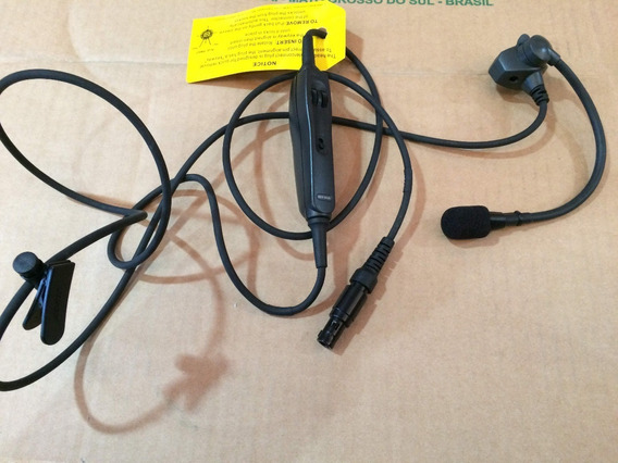 Cabo Com Microfone Volume 6 Pinos Lemo Plug Bose A10