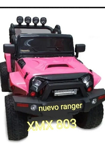 Carro Recargable Jeep