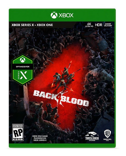 Imagen 1 de 6 de Back 4 Blood Xbox One - Serie X Juego Nuevo Original Sellado