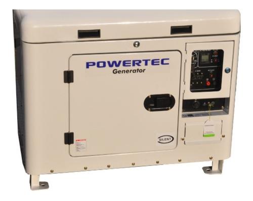 Imagen 1 de 6 de Generador Powertec Automático Diesel Grupo Electrógeno