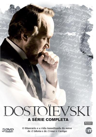Dostoiévski... Minisérie Completa - 3 Dvd