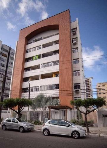 Apartamento Com 3 Dormitórios À Venda, 99 M² Por R$ 380.000,00 - Cocó - Fortaleza/ce - Ap1749