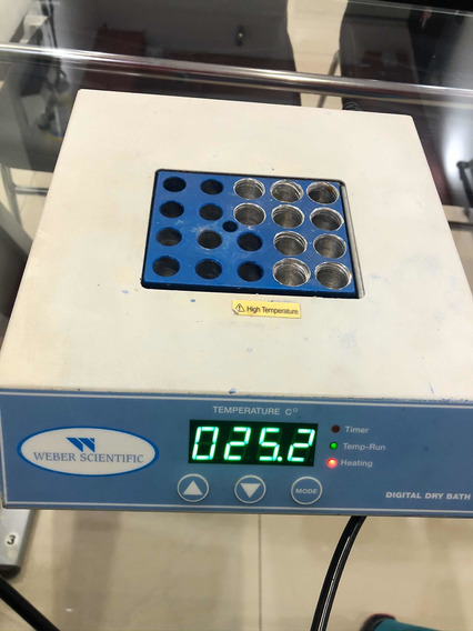 Baño Seco Laboratorio. Plasmagel Webber Scientific