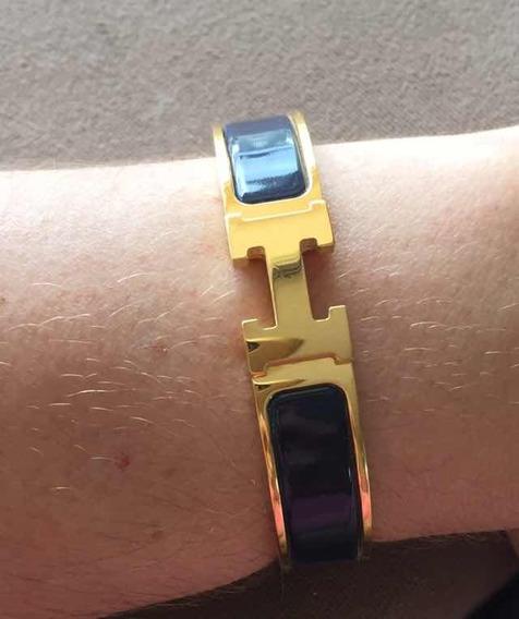 Bracelete Clic Clac Hermes Enamel