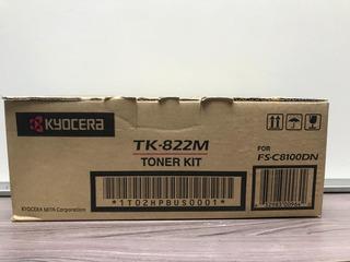 Toner Original Kyocera Tk-822m Magenta P/ Fs-c8100dn