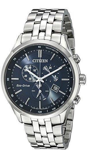 Citizen At2141-52l Reloj De Acero Inoxidable En Tono Platea