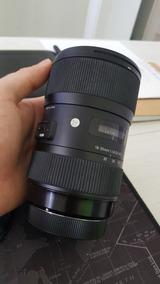 Lente Sigma Art 18-35mm F/1.8 Dc Hsm P/ Canon
