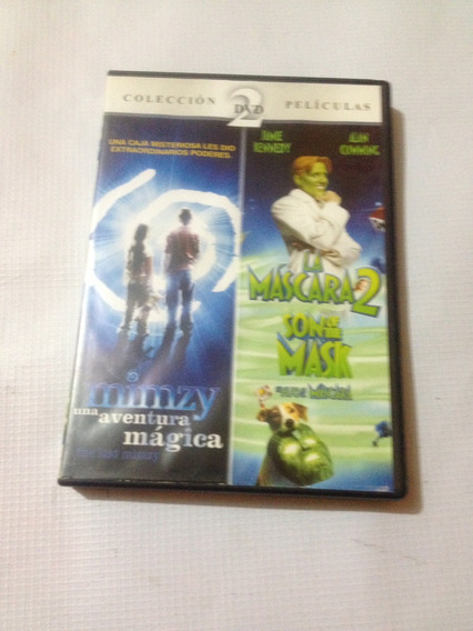 Mimzy La Mascara 2 Doble Disco Dvd