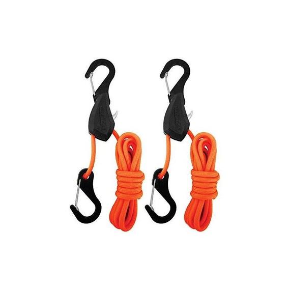 Progrip Better Than Bungee 056270 Orange 6 Tie Down, Paquete