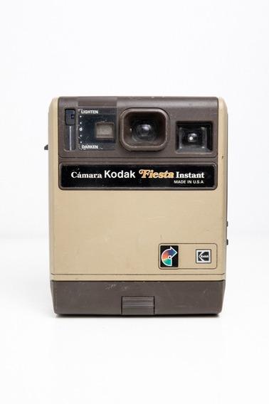 Câmera Fotográfica Kodak Fiesta Antiga Instant