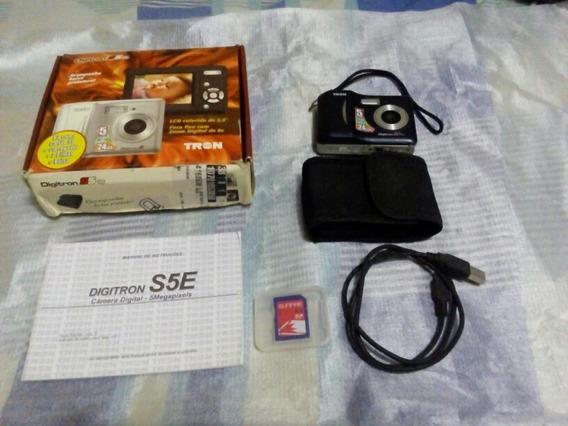 Câmera Digital Digitron S5e Tron 5mp