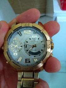 Relógio Technos Legacy Masculino Banhado T205fi/4x