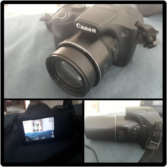 Câmera Semi Profissional Canon Powershot Sx520